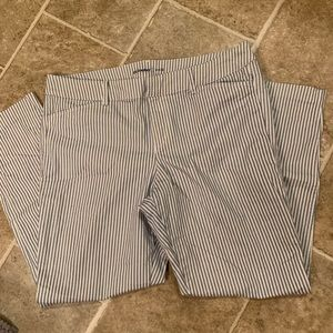 Old navy pixie pinstriped pants